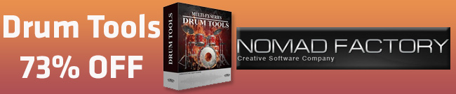 Banner Nomad Factory Drum Tools 73% OFF