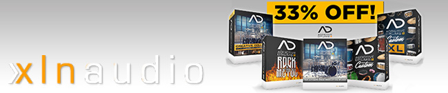 Banner XLN Audio AD 2 Starter Offer 33% OFF