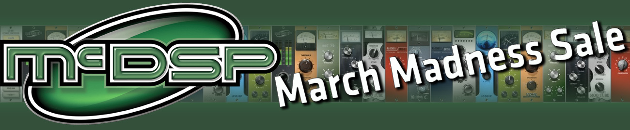 Banner McDSP March Madness Sale