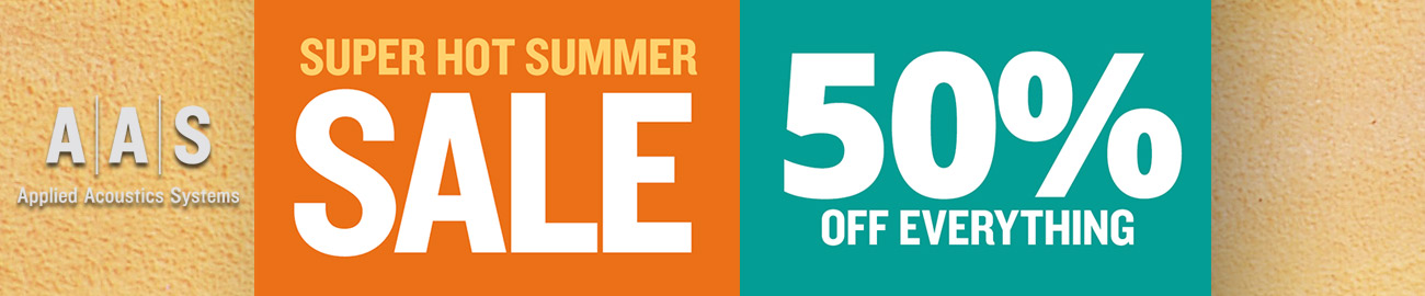 Banner AAS Summer Sale 50% OFF