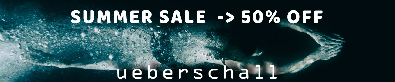 Banner Ueberschall Summer Sale 50% OFF