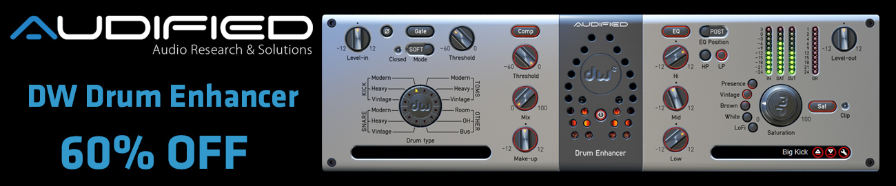Banner Audified DW Drum Enhancer - 60% OFF