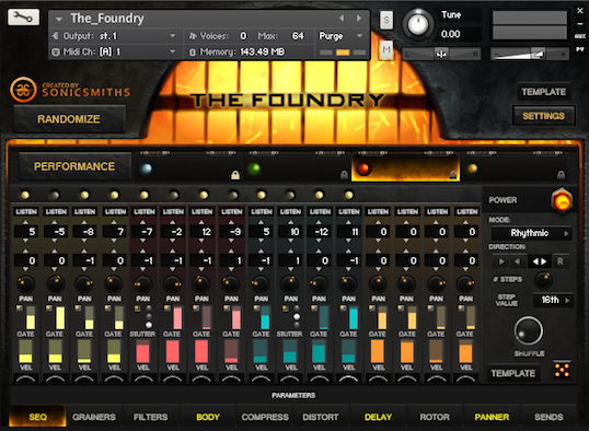 The Foundry Step Sequencer